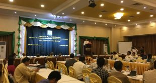 Opening remark by Dr. Nyi Nyi Kyaw, Director-General of Forest Department of MONREC