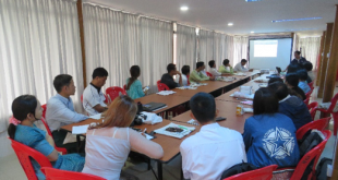 Quarterly Coordination Meeting at Burmese Church in Dawei, Tanintharyi